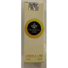 Tranquil CBD - Lemon & Lime