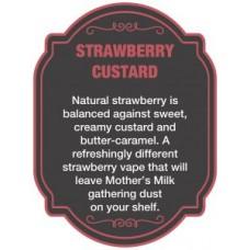 Dinner Lady Strawberry Custard 3x10ml