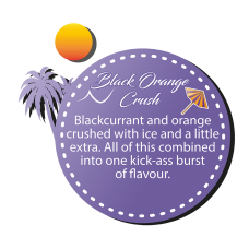 Dinner Lady Black Orange Crush 3x10ml