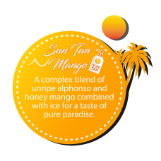 Dinner Lady Sun Tan Mango 3x10ml